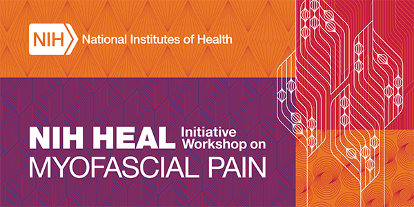 Banner announcing the HEAL Workshop on Myofascial Pain