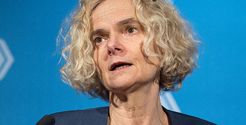 Dr. Nora Volkow. Photo: Leslie Kossoff